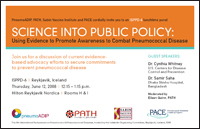ISPPD-6 Advocacy Panel Invitation